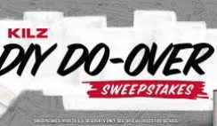 Kilz's DIY Do-Over Sweepstakes