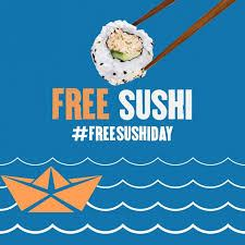PF Changs' Free Sushi Day 2018