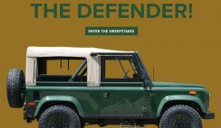 Orvis' Barbour Land Rover Sweepstakes
