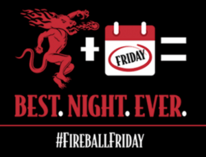 Sazerac's Fireball Fridays Instant Win Game