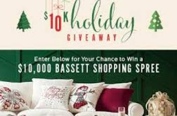 Bassett Furniture's $10K Holiday Sweepstakes