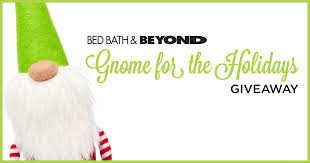 Bed Bath & Beyond's Gnome for the Holidays Giveaway