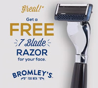 Free 7-Blade Razor from Bromley