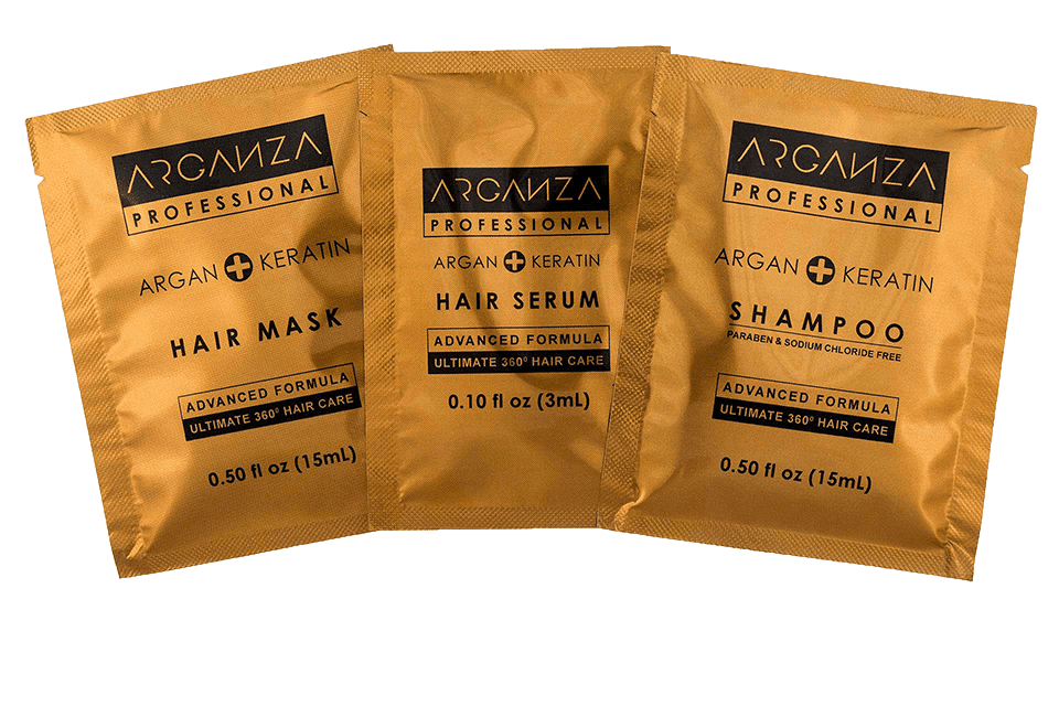 Free Arganza Hair Mask Sample