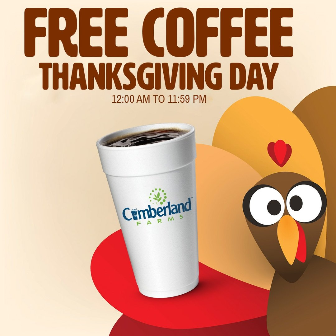 Free Coffee from Cumberland Farms