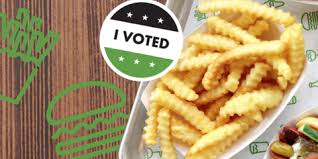 Free Shake Shack Fries for Voting
