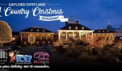 Nashville CVB's Christmas at Gaylord Opraland Giveaway