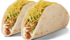 2 Free Grilled Chicken Tacos from Del Taco