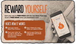 Free Drink from Blaze Pizza