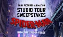 Studio Movie Grill's Spider-Man: Into the Spider-Verse Sweepstakes