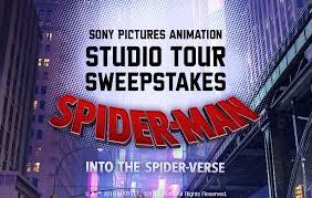 Studio Movie Grill's Spider-Man- Into the Spider-Verse Sweepstakes
