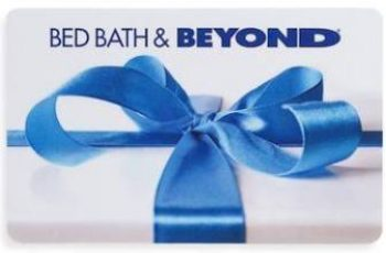 Win a $25 Bed, Bath, and Beyond Gift Card