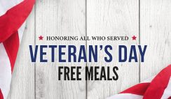 Over 140 Freebies for Military & Veterans on Veteran's Day