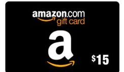 FREE amazon gift card - $15 Amazon Credit on $25 Purchase - ends 1/31