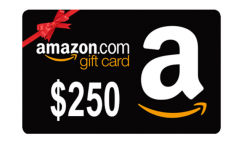 Win a $250 Amazon Gift Card - ends 1/26