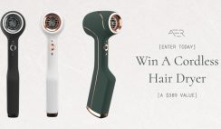 Win 1 of 10 AER Cordless Hair Dryers ($389 Value Each) - ends 1/31