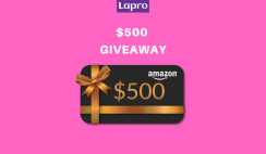 Win a $500 Amazon Gift Card - ends 1/31