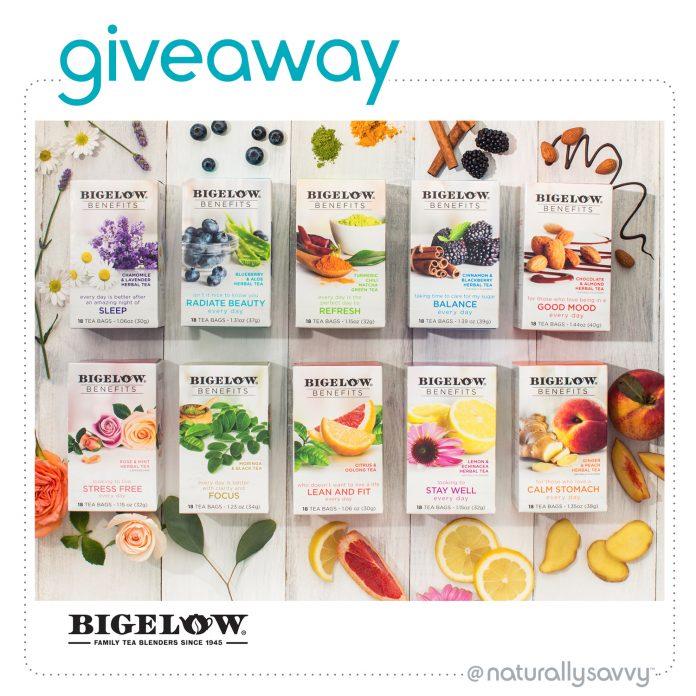 Win 1 of 3 Bigelow Tea Gift Boxes of 180 Tea Bags Each - ends 1/30