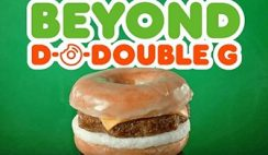 FREE Beyond Sausage Sandwich at Dunkin' Donuts on January 24th-25th