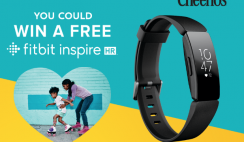 Win 1 of 9,650 FitBit Inspire HR Fitness Trackers From Cheerios ($99.95 Value Each) - Instant Win Game - ends 5/1