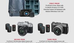 Win 1 of 3 FujiFilm X Series Cameras, Shimoda Explore 30 Backpack & Saramonic Mic Kits - ($5,000+ Value) - ends 1/31