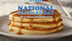 FREE Pancakes at IHOP on 2/25!