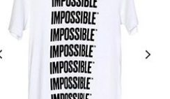 FREE T-Shirt From Impossible Foods