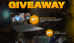 Win an Ironsight GIGABYTE Gaming Laptop & Peripherals Giveaway - 3 Winners - ends 1/31