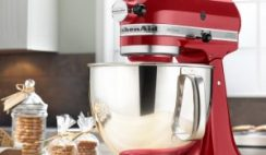 Win a KitchenAid Giveaway Artisan 5 Qt. Stand Mixer From Leites Culinaria ($379 Value) - Enter Daily - ends 1/22