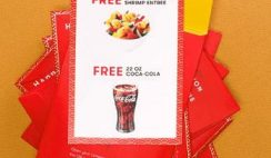 FREE Red Envelope at Panda Express on Saturday 1/25!