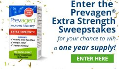 Win a One Year Supply of Prevagen Extra-Strength Memory Supplements ($720 Value) - ends 1/31