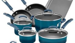 Win a Rachael Ray Giveaway 14pc Nonstick Cookware Set - ends 1/31