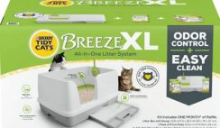 FREE Tidy Cats Breeze XL Litter System