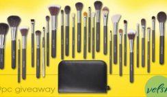 Win a 29pc Pro Makeup Brush Set From Velsk Beauty ($200 Value) - ends 1/15