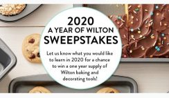 Win 1 of 5 Wilton Baking & Decorating Supplies For a Year Prize Bundle ($400+ Value Each) - ends 1/27