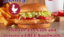 FREE Sandwich Meal at Zaxby's + Birthday & App Freebies!