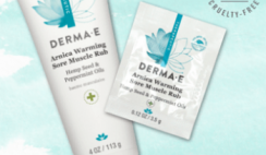 FREE Derma-E Warming Sore Muscle Rub
