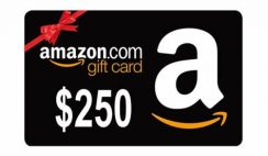 Win a $250 Amazon Gift Card - ends 2/28