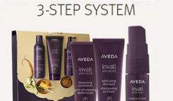 FREE Aveda Invati Advanced 3-Step System - at Aveda Stores