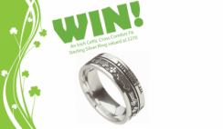 Win a Sterling Silver Celtic Cross Ring From The Irish Shop ($270 Value) - ends 2/29