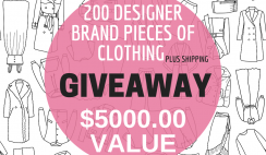 Win Free $5,000 Worth - 200 Pieces of Designer Clothes From La Rose Prive Fashion Club - ends 4/10
