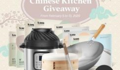 Win a Kana Chinese Kitchen Bundle with Wok, Combo Air Fryer & Pressure Cooker, Ceramic Steamer & More - ends 2/13