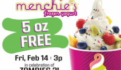 FREE 5 oz. of Frozen Yogurt at Menchie's Today 2/14! @ 3pm