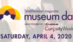 FREE Museum Admission Ticket: April 4th