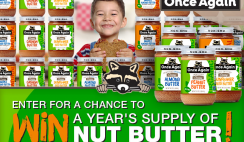 Win a Year's Supply - 60 Jars -  of Once Again Nut Butters - ends 3/2