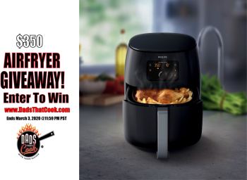 Win a Philips Airfryer Giveaway: 3/3