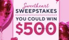 Win $2,900 Cash & Other Prizes From QVC Sweetheart Sweepstakes - ends 2/29