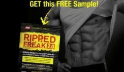 FREE Ripped Freak 2.0 Fat Burner