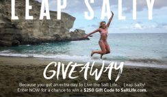 Win a $250 Salt Life Gift Card - ends 2/28