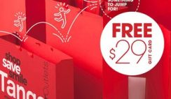 FREE $29 Gift Card at Tanger Outlets on 2/29